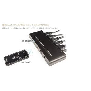 HDMI セレクター 手動切り替え  4K 2K 映像対応 GH-HSWG4-BK (宅配便送料無料)|ecojiji|05