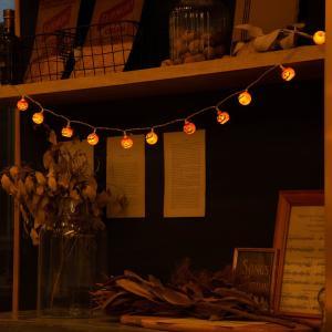 ハロウィン  ライト イルミネーション  パンプキン かぼちゃ ジャックオーランタン  装飾 ランプ (ネコポス送料無料)|ecojiji