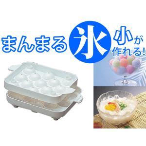 製氷器 丸型 ミニ 家庭用 氷 (宅配便指定商品)|ecojiji