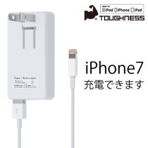 iphone ライトニングケーブル と 2ポートUSB搭載 USB-AC アダプタ セット(メール便送料無料)|ecojiji