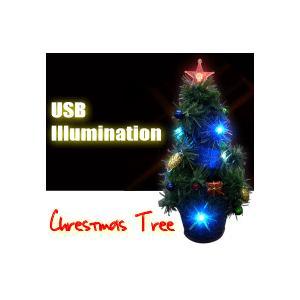 USBイルミネーション/LED電飾クリスマスツリー 【宅配便指定商品】|ecojiji
