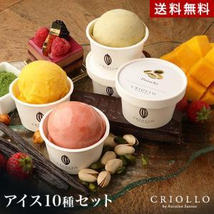 クリオロ プレミアムアイス10個セット スイーツ おやつ 洋菓子 冷凍便 送料込