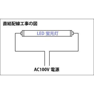 LED蛍光灯 40W形 2400LM 工事不要...の詳細画像1