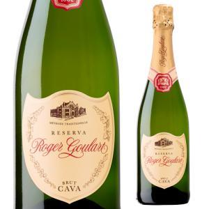 スパークリングワイン ロジャー グラート カヴァ ゴールド ブリュット 750ml 箱なし 長S スペイン 750ml 辛口|ecoledwine