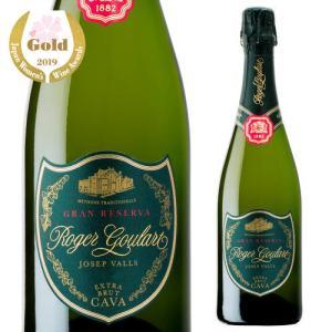 スパークリングワイン ロジャー グラート カヴァ グラン キュヴェ ジョセップ ヴァイス 750ml 箱なし 長S スペイン 750ml 辛口|ecoledwine