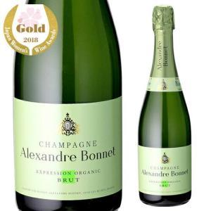 シャンパン スパークリングワイン アレクサンドル ボネ エクスプレッション オーガニック 750ml|ecoledwine
