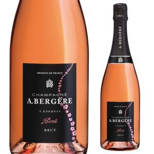 シャンパン スパークリングワイン A.ベルジェール ロゼ ブリュット NV ア ベルジェール アンドレ ベルジェール|ecoledwine