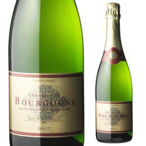スパークリングワイン ルイ スフロ クレマン ド ブルゴーニュ ブリュット 750ml 長S フランス 辛口 発泡|ecoledwine