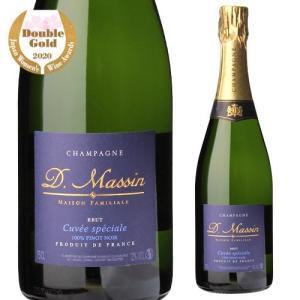 シャンパン スパークリングワイン ドミニク マサン キュヴェ スペシャル ブリュット NV 750ml|ecoledwine