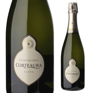 スパークリングワイン フランチャコルタ サテン コルテアウラ 750ml 長S イタリア 辛口 発泡|ecoledwine