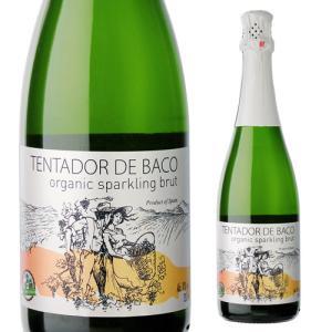 スパークリングワイン テンタドール デ バコ オーガニック スパークリング 750ml長S スペイン 辛口発泡|ecoledwine
