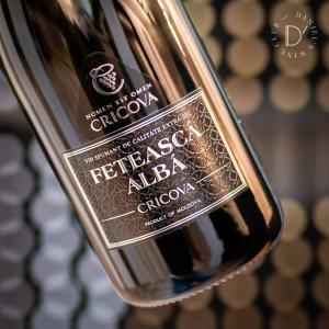 スパークリングワイン 辛口 クリコヴァ フェテアスカ アルバ エキストラ セック / Cricova Feteasca Alba Extra Sec 白 泡|ecoledwine