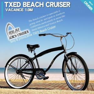 ビーチクルーザー 26インチ 自転車 マットブラック  ビーチクルーザー 自転車|ecolife-araisk2011|04