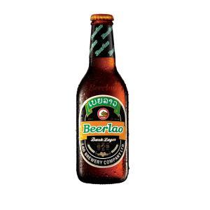 ラオスビール ビアラオダーク beerlao-dark 330ml瓶×24本|ecolocle