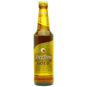 ラオスビール ビアラオゴールド beerlao-gold 330ml瓶×24本|ecolocle