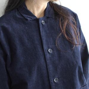 ジャケット bliss bunch 綿ツイル モールスキン オーバーサイズ シャツジャケット  秋 冬 レディース 1920AW1122,  x03, q4, セール! ecoloco 05