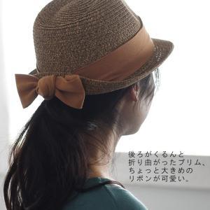 帽子 UV リボン ペーパーハット 麦わら帽子 レディース 春 夏 1820SS0330,r07c, クーポン対象|ecoloco|06