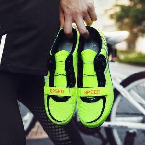 自転車靴 靴 ロードバイクシューズ ロードバイク マウンテンバイク ビンディングシューズ サイクリン...