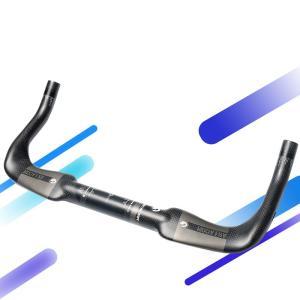 新品!正規品 ASIACOM TTハンドル DHバー T700カーボン製 ピスト ロードバイク マウ...