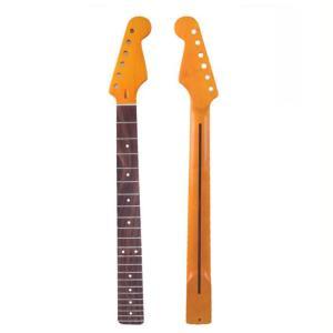 STストラトタイプ交換用ネック ギターパーツ ギターネック メイプル ローズウッド指板