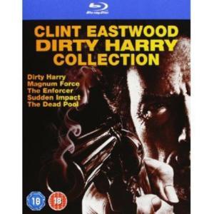 ダーティハリー コレクション 5作品(531分) Dirty Harry Collection Blu-ray 輸入盤