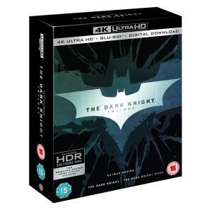 ダークナイト トリロジー 3部作収録 4K ULTRA HD +Blu-ray 輸入版