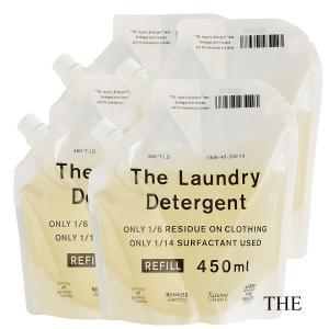(4個セット)THE 洗濯洗剤 詰替用 450ml(e3/洗濯洗剤 洗濯用 衣類用 洗剤/45476...