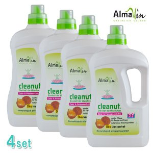 (4本組)アルマウィン ランドリーリキッド クリナッツ 2000ml(e5/洗濯洗剤/4935137901400)|ecomarche