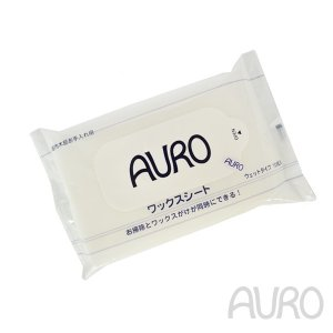 (33.3%増液タイプ)アウロ ワックスシート 10枚入り(f3/AURO 増液/4571169380037)|ecomarche