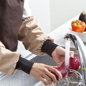 朝倉染布 超撥水アームカバー(h2/アームカバー キッチングローブ キッチン手袋/ゴム手袋)