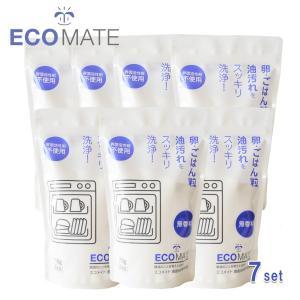 (7個組)エコメイト 食器洗浄機用洗剤 詰替え(i4/ECOMATE/4935137900441) ecomarche