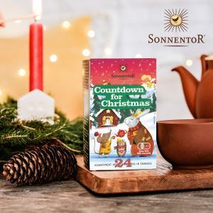ゾネントア クリスマスカウントダウンのお茶(t1/ SONNENTOR アドベント プレゼント交換 ...