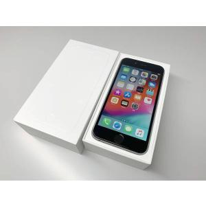au iPhone6 64GB スペースグレイ バッテリー100% ecomoshinshimonoseki