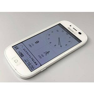 docomo らくらくスマートフォン3 F-06F ホワイト ドコモ