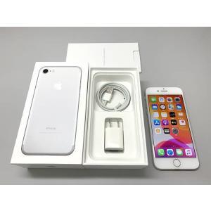 au iPhone7 32GB シルバー SIMロック解除済 ecomoshinshimonoseki