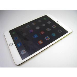 au iPad mini 3 Wi-Fi+Cellular 64GB ゴールド|ecomoshinshimonoseki