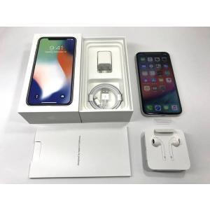 SIMフリー iPhoneX 256GB シルバー 国内版|ecomoshinshimonoseki