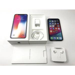 SIMフリー iPhoneX 256GB スペースグレイ 国内版 Apple|ecomoshinshimonoseki