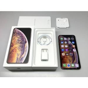 国内版 SIMフリー iPhone Xs MAX 512GB ゴールド バッテリー100%|ecomoshinshimonoseki