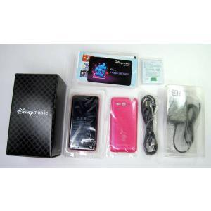 SoftBank Disney Mobile DM013SH ミニーローズ 【新品】|ecomoshinshimonoseki