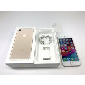 au iPhone7 32GB ゴールド SIMロック解除済 ecomoshinshimonoseki