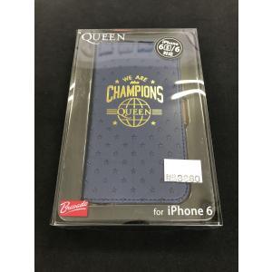 iPhone6S/iPhoen6対応  QUEEN フリップカバー 手帳ケース クイーン ブルー PG-UFP157QE|ecomoshinshimonoseki