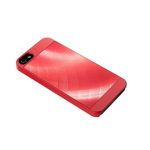 SoftBank SELECTION アルミプレートケース for iPhone 5s/5/SE SB-IA07-HCAL/RD レッド×クロス|ecomoshinshimonoseki|02