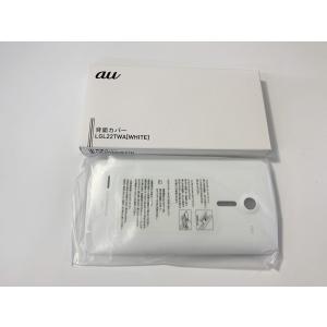 新品 au 純正 isai LGL22 リアカバー  背面カバー 裏蓋  LGL22TWA ホワイト|ecomoshinshimonoseki