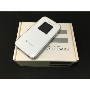 SoftBank ULTRA WiFi 4G 102Z  Wi-Fiルーター ルナホワイト|ecomoshinshimonoseki