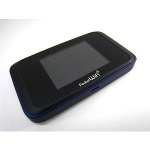SoftBank Pocket WiFi 501HW ネイビーブルー Wi-FIルーター|ecomoshinshimonoseki