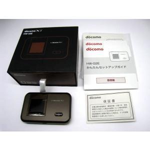 docomo HW-02E チョコレート  Wi-Fiルーター データ通信端末