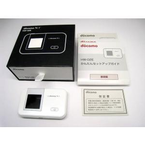 docomo HW-02E ホワイト  Wi-Fiルーター データ通信端末
