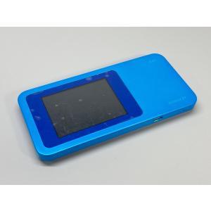 au Speed Wi-Fi NEXT W01 ブルー ecomoshinshimonoseki