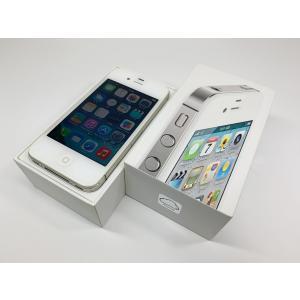 au iPhone4s 16GB ホワイト 白 ecomoshinshimonoseki